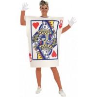 Carte Reine De Coeur - costume adulte à louer DGZL-100012 de Non