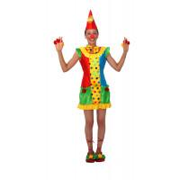 Déguisement Clownette Taille 38/40 123DEG-3700631023436-10015296