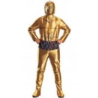 C-3po ou Z-6PO, l'agaçant droïde de Star Wars - déguisement adulte à louer DGZL-100247 de Non