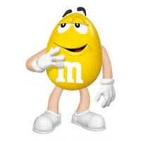 M&M'S Jaune - déguisement adulte à louer DGZL-100190 de Non