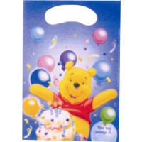 Lot de 6 Sacs Cadeaux Imprimés Winnie 123DEG-5201184081266-10017242