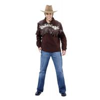 Chemise Cowboy - location de déguisement adulte DGZL-100382 de Non