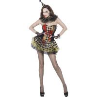 Déguisement Zombie Clown Femme Effrayante Taille M 123DEG-5020570913611-9-10028715