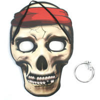Masque Pirate avec Boucle D'oreilles (24) 123DEG-3588270013014-10020348