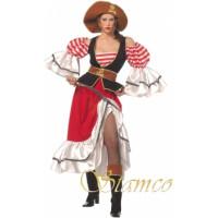 Lady Corsaire - déguisement adulte à louer DGZL-100623 de Non