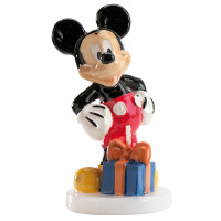 1 Bougie Décorative Mickey© 9 Cm 123DEG-8435035205953-10011029