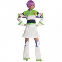 Lady Buzz l'éclair -location costume adulte DGZL-200321 de Non