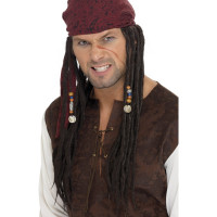 Perruque Pirate avec Foulard 123DEG-5020570420782-9-10027819 de Non