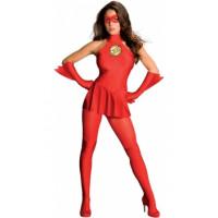 Flash Woman, le plus rapide des supers héros - déguisement adulte à louer DGZL-100102 de Non