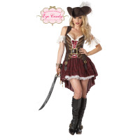 Déguisement Sexy Pirate Taille S 123DEG-19519038930-10014125