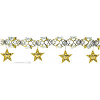 Guirlande Laser Bonne Annee Or 3M 123DEG-8003558790203-10018056