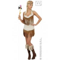 Apache girl, costume traditionnel indien - déguisement adulte à louer DGZL-100116 de Non