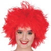Perruque Clown Frizzy Rouge Femme