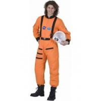 Cosmonaute orange - location de costume adulte DGZL-100445 de Non
