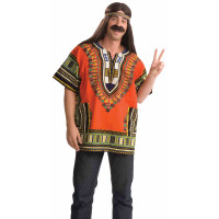 Dashiki Orange - Taille Unique 123DEG-721773661075-10014304