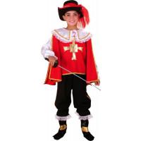 Mousquetaire rouge enfant - déguisement enfant à louer  DGZL-200242 de Non