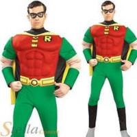 Robin Musclé - déguisement adulte à louer DGZL-100056 de Non