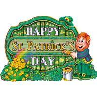 Decor Happy Saint Patrick'S Day 40cm - Imp 2 Faces 123DEG-34689333975-10018686