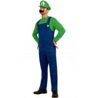 Luigi, personnage de Super Mario - location de déguisement adulte DGZL-100269 de Non