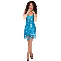 Déguisement Paradise Bleue Taille M 36/38 123DEG-8712026850263-1-10013360