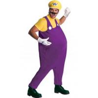 Wario, personnage de Super Mario - location de costume adulte DGZL-100278 de Non