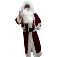 Père Noël Manteau Velours - déguisement adulte à louer DGZL-100732 de Non