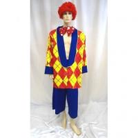 Clown Popov - déguisement adulte à louer DGZL-100413 de Non