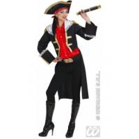 Capitaine Anne Bonny  Noir - déguisement adulte à louer DGZL-100355 de Non