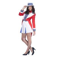 Déguisement America Star Femme Taille 38/40 123DEG-3700631006842-10015686 de Non