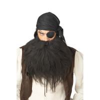 Barbe et Moustache de Pirate 123DEG-19519011032-10021755