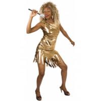 Tina Turner or ou argent - déguisement adulte à louer DGZL-100895 de Non