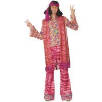 Déguisement Hippie San Fransisco Homme Taille 54/56 123DEG-3700631003193-10015399