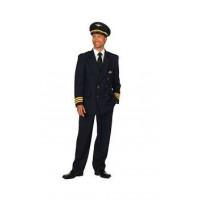 Pilote de l'air Luxe - Déguisement adulte à louer DGZL-200055 de Non