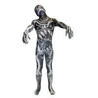 """Déguisement seconde peau ™ Enfant Monstre Squelette """"Skull And Bones"""" T 123DEG-887513013105-10014252"""
