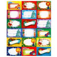 Planche de 18 Etiquettes Pour Nom sur Cadeau Noel 123DEG-3660495506899-10016938