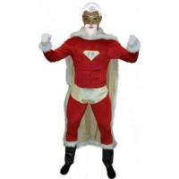 Super père noël - déguisement adulte à louer DGZL-100200 de Non