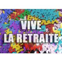Confettis Vive La Retraite 14 Grs Pvc 123DEG-3700638210976-10011983